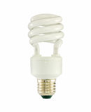 White fluorescent lamp Royalty Free Stock Images