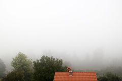 White fog Royalty Free Stock Photos