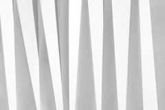 White folded paper royalty free stock images