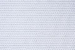 White football jersey clothing fabric texture sports wear Royalty Free Stock Photo