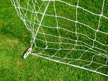 White football net Royalty Free Stock Images