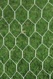 White football net. Royalty Free Stock Photos