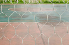 White football net Stock Image