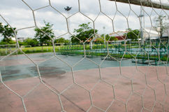 White football net Stock Photo