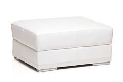 White footstool Royalty Free Stock Photography