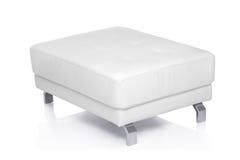 White footstool Stock Image