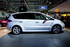 White Ford C-Max Royalty Free Stock Images