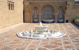 White fountain Royalty Free Stock Photography