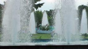 White fountain Stock Images