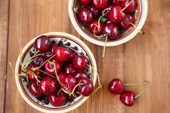 white för Cherryisolering sött Royaltyfri Fotografi