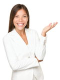 white för person för bakgrundsaffär göra en gest Royaltyfria Foton
