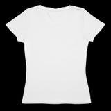 white för skjorta t Arkivbild