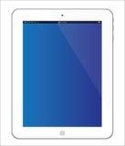white för tablet för ipad för 3 äpple ny Arkivfoto