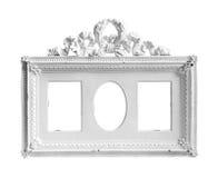 White frame. On white background Stock Photography