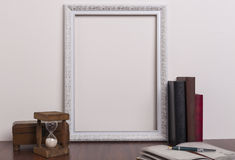 White Frame Stock Photography