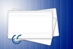 White frames Royalty Free Stock Images