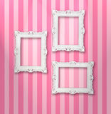 White frames Stock Images