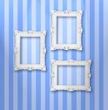 White frames Stock Photos