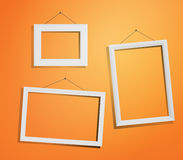 White frames Royalty Free Stock Photography