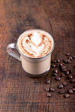 White Frappe Coffee Stock Images