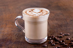 White Frappe Coffee Royalty Free Stock Photography