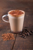 White Frappe Coffee Royalty Free Stock Photo