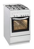 White Free Standing Cooker Royalty Free Stock Photography