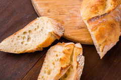 White french baguette Royalty Free Stock Photo