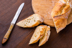 White french baguette Royalty Free Stock Photos