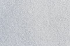 White fresh frosty snow texture top view. Photo stock images