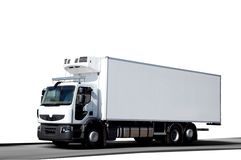 White frigo truck Stock Photography