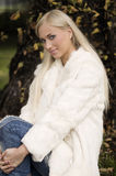 White fur Royalty Free Stock Images