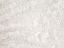 White fur background Royalty Free Stock Photography