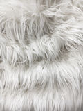 White fur background Royalty Free Stock Image