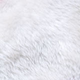 White fur texture Stock Images
