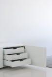 White Furniture Stock Photo