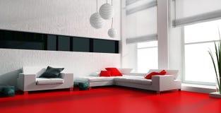 White furniture Stock Image