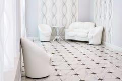 White furniture. Royalty Free Stock Image