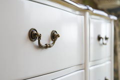 White furniture Stock Photography