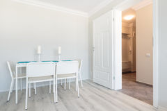 White furniture and walls Stock Photography