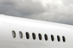 White Fuselage Royalty Free Stock Image