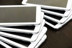 White 4G tablet Royalty Free Stock Images