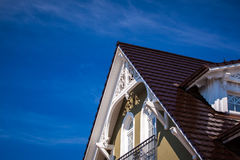 white gable Stock Images