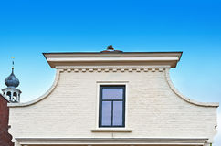 White Gable Stock Image