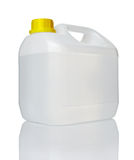 White gallon container Royalty Free Stock Photography