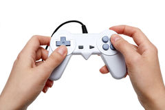 White game controller Royalty Free Stock Photo