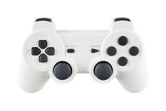 White Gamepad Royalty Free Stock Photo