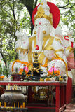 White ganesha statue Stock Photography