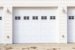 White Garage Royalty Free Stock Photos