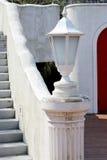 White garden lamp Stock Image